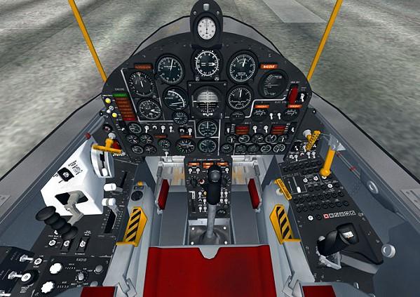 Delivery: Downl... X 15 Cockpit