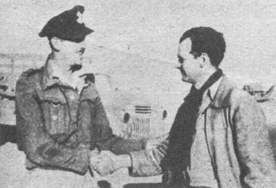 Caldwell with Polish pilot: Ltn. Urbanczyk.